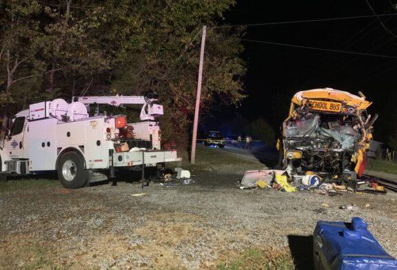 Student, bus driver killed in Meigs Co. TN school bus crash