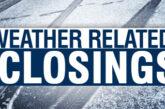 Closings/Delays January 8th, 2021