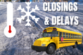 Closings & Delays for February 18th, 2021